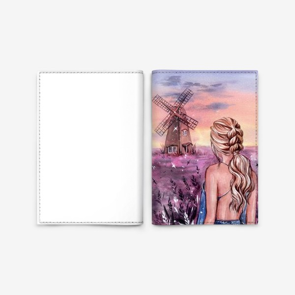 Обложка для паспорта «на закате...»