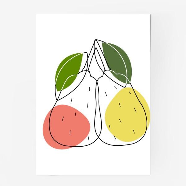 Постер «груши»