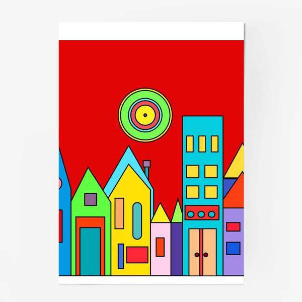 Постер «Город.»