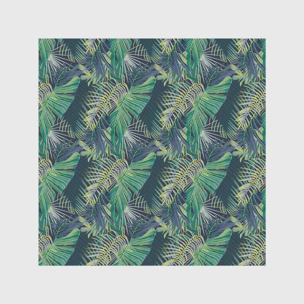 Шторы «Зеленые  тропики»