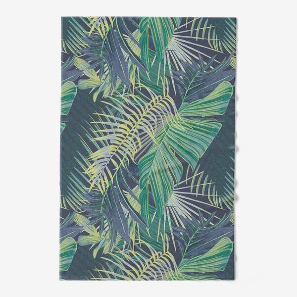 Полотенце «Зеленые  тропики»