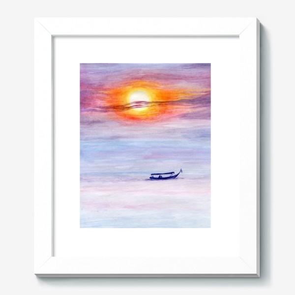 Картина «Закат на море»