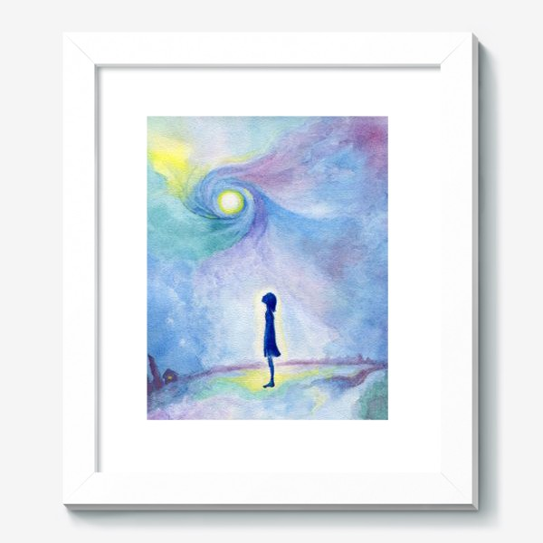 Картина «Наедине с Вселенной»