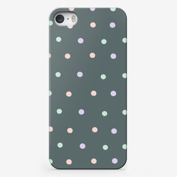 Чехол iPhone «Горох, горошек, polka dot»