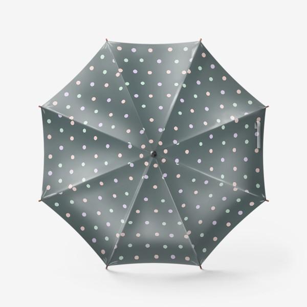 Зонт «Горох, горошек, polka dot»