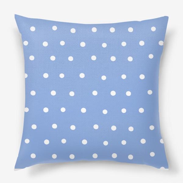 Подушка «Горох, горошек, polka dot»