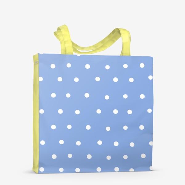 Сумка-шоппер «Горох, горошек, polka dot»