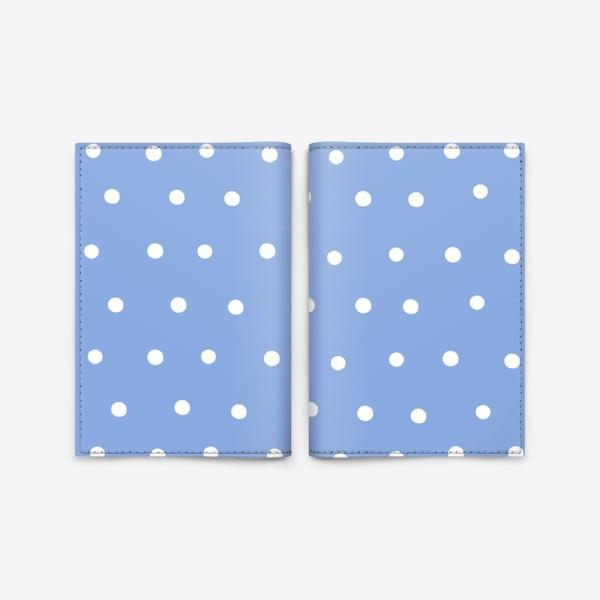 Обложка для паспорта «Горох, горошек, polka dot»