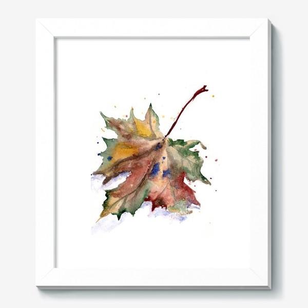 Картина «Лист кленовый»