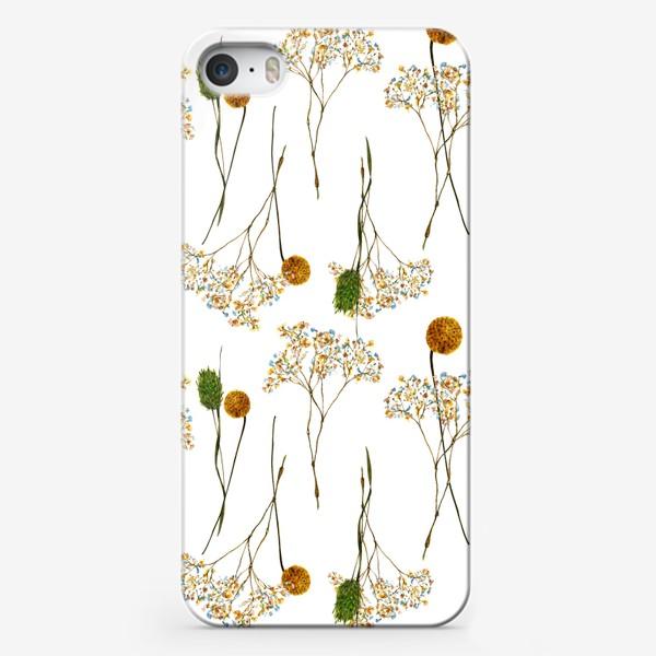 Чехол iPhone « сухоцветы»