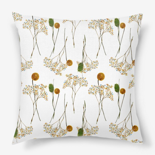 Подушка « сухоцветы»