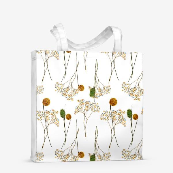 Сумка-шоппер « сухоцветы»