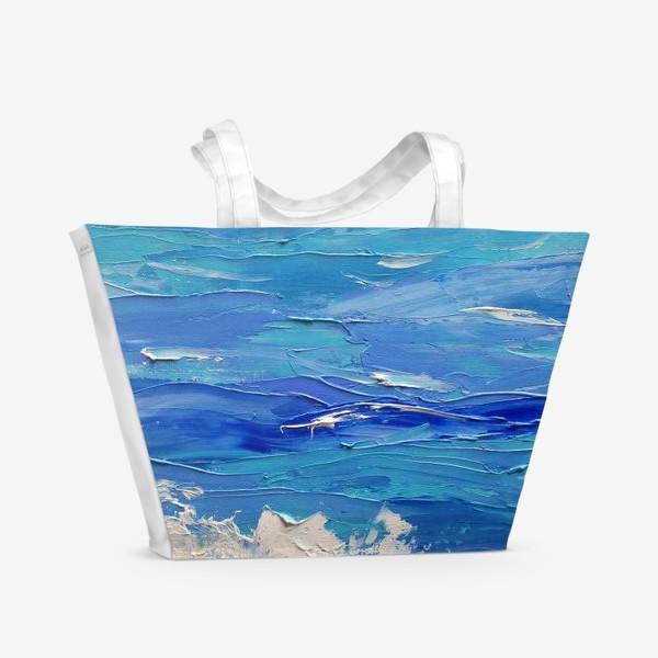 Пляжная сумка «Морское настроение»