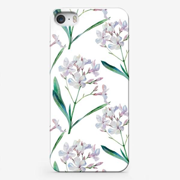 Чехол iPhone «Белый олеандр»