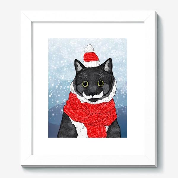 Картина «Зимний Кот»