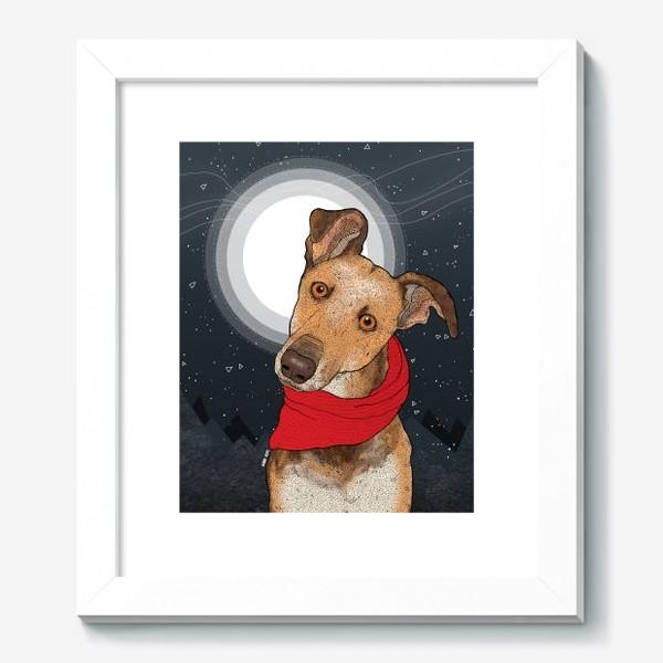 Картина «Собака по имени Нудлс»