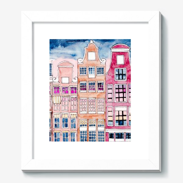 Картина «Голландские фасады»