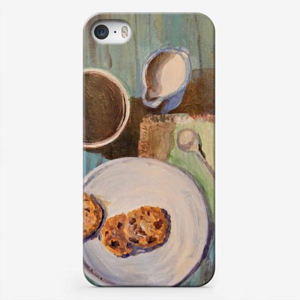 Чехол iPhone «Утренний кофе»