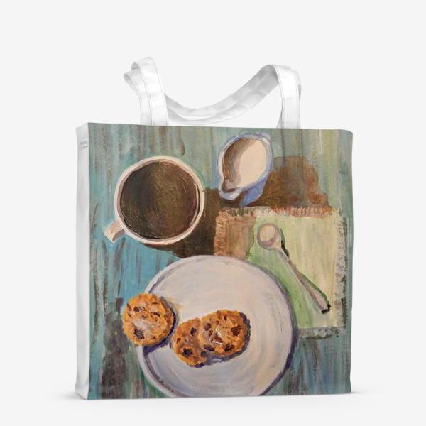 Сумка-шоппер «Утренний кофе»