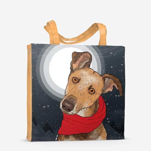 Сумка-шоппер «Собака по имени Нудлс»