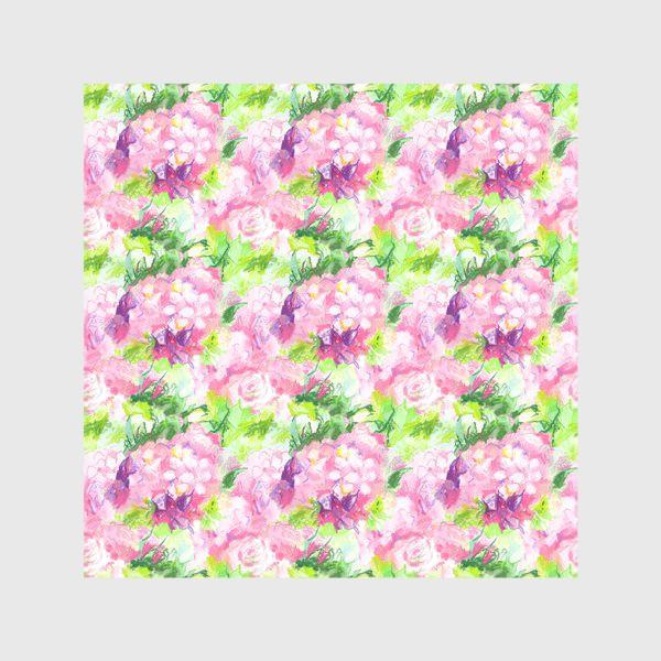 Скатерть «Паттерн с розовыми цветами»
