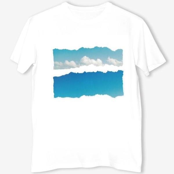 Футболка «Голубое небо. Облака. Лето»