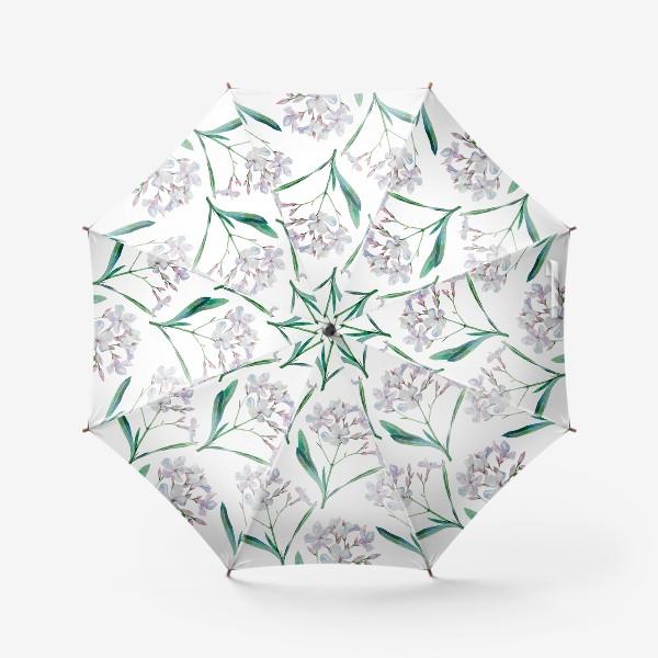 Зонт «Белый олеандр»