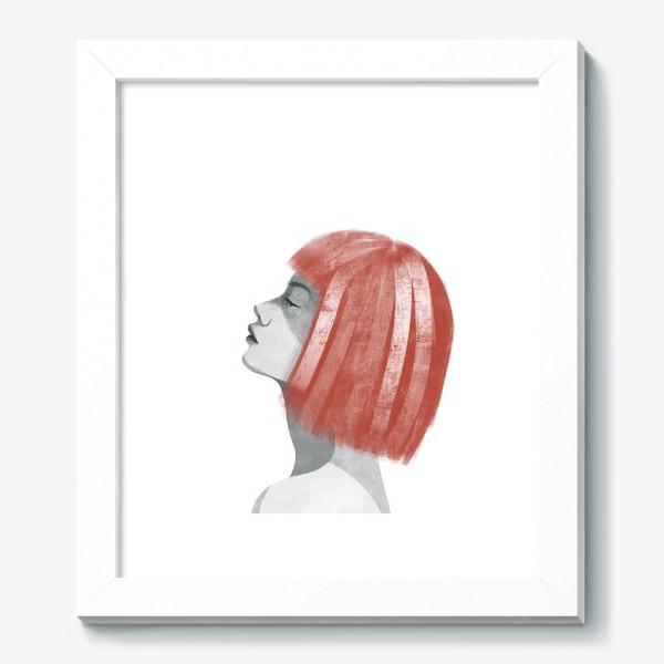 Картина «Девушка с рыжими волосами. Девушка»