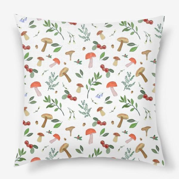 Подушка «Лесные подарки»