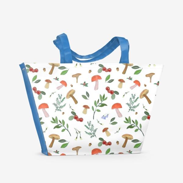 Пляжная сумка «Лесные подарки»