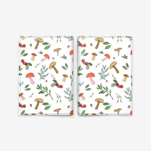 Обложка для паспорта «Лесные подарки»