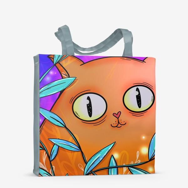 Сумка-шоппер «Рыжая кошка»