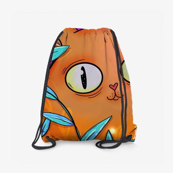 Рюкзак «Рыжая кошка»