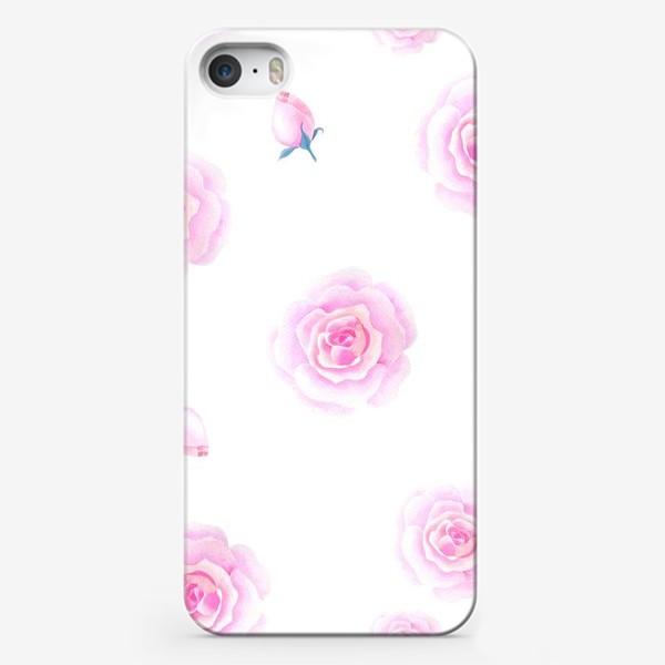 Чехол iPhone «Нежные розочки»