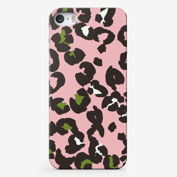 Чехол iPhone «Леопардовый принт»