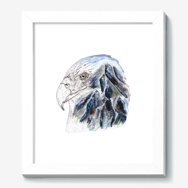Картина «Орел и горы»