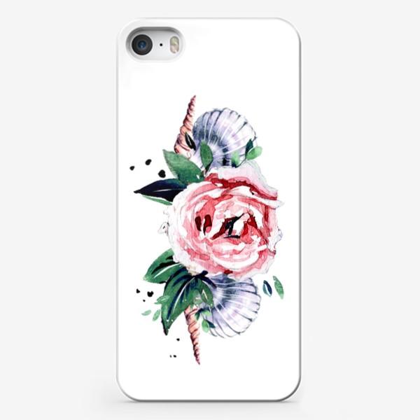 Чехол iPhone «венок из ракушек»
