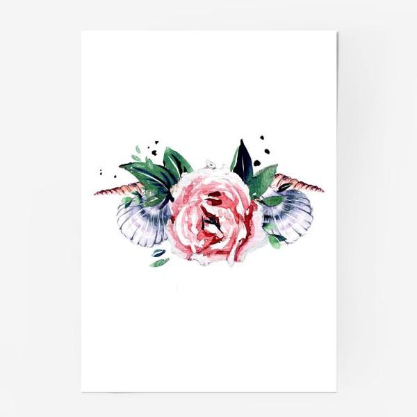 Постер «венок из ракушек»