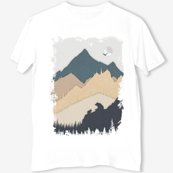 Футболка «Bear In The Mountains»