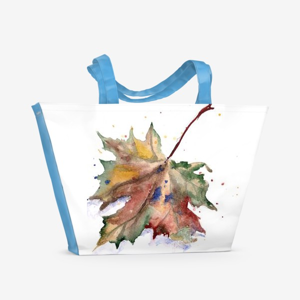 Пляжная сумка «Лист кленовый»