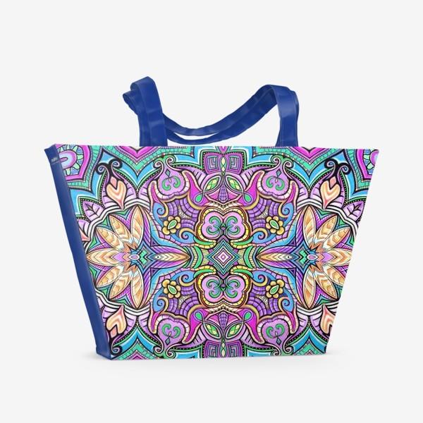 Пляжная сумка «Цветник Жизни»