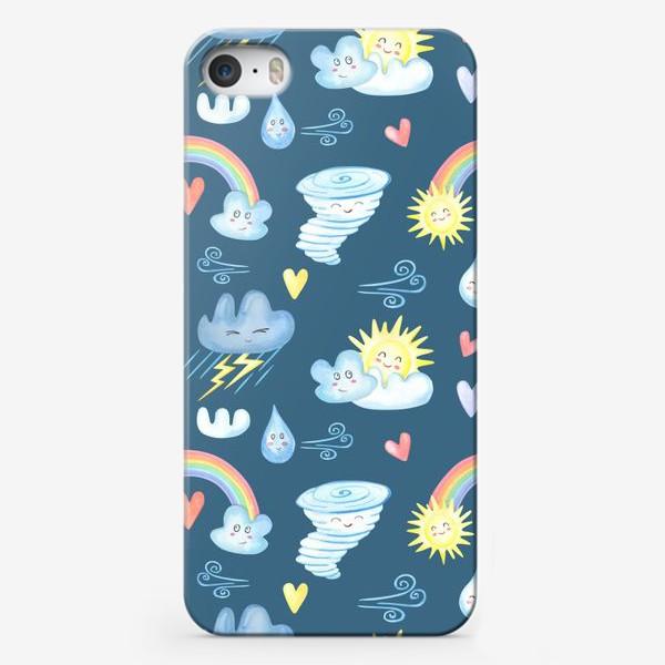 Чехол iPhone «Погода в радость»