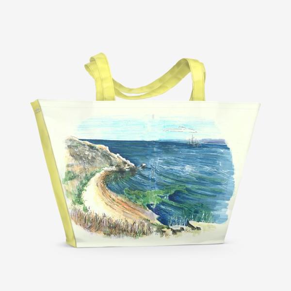 Пляжная сумка «Крымское море»