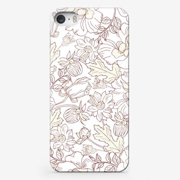 Чехол iPhone «нежный цветочный»