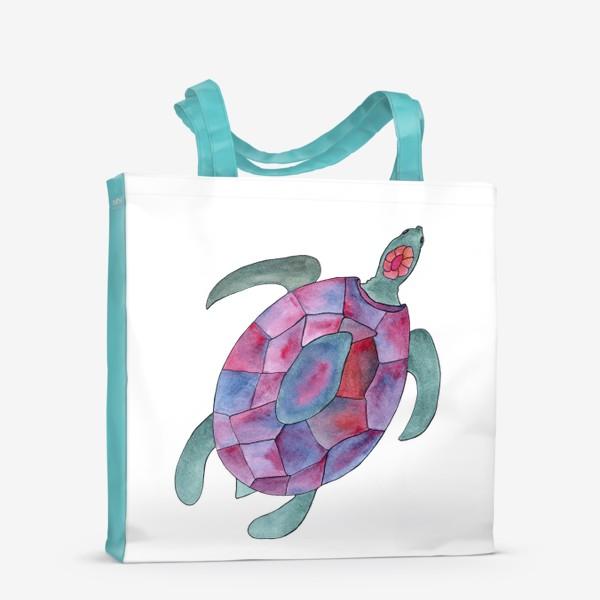 Сумка-шоппер «Черепаха. Королева морских глубин.»