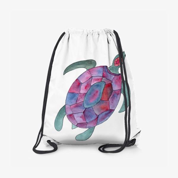 Рюкзак «Черепаха. Королева морских глубин.»