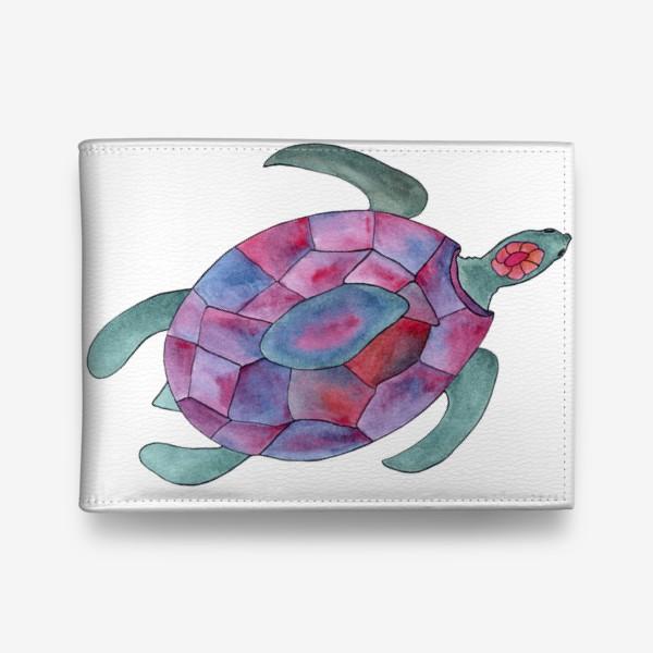 Кошелек «Черепаха. Королева морских глубин.»