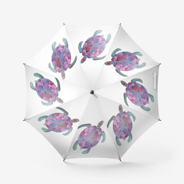 Зонт «Черепаха. Королева морских глубин.»