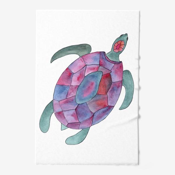 Полотенце «Черепаха. Королева морских глубин.»