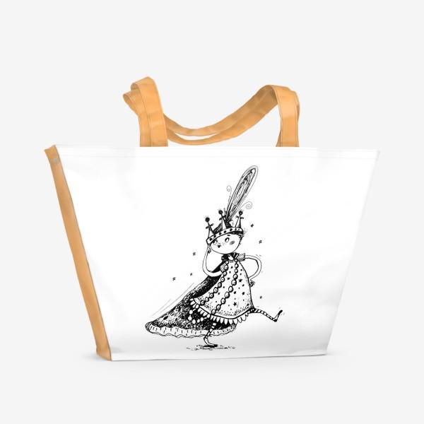 Пляжная сумка «Я Принцесса»